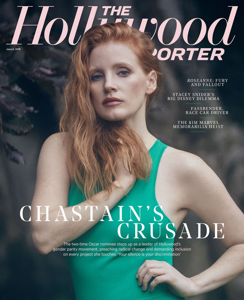 Jessica Chastain, The Hollywood Reporter